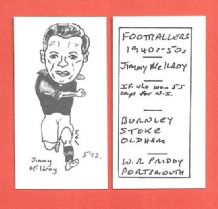 Burnley Jimmy McIlroy 572